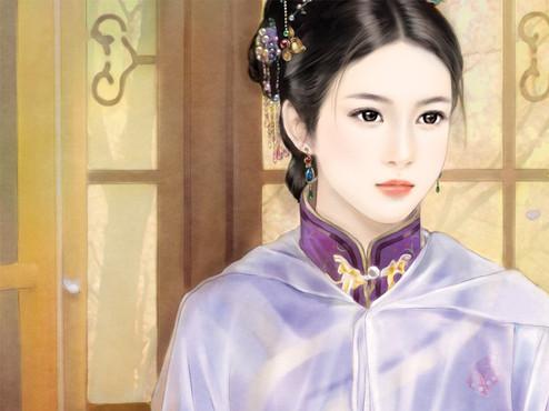 【店铺】爱古代女子丹青的女图片