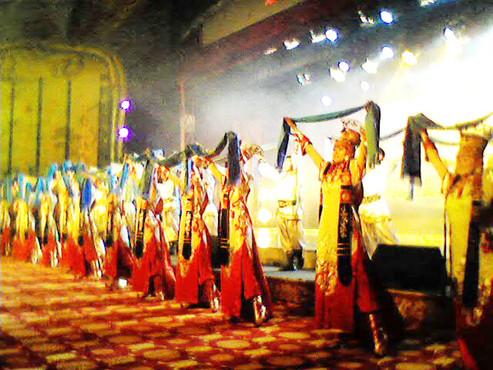 蒙古舞蹈1图片