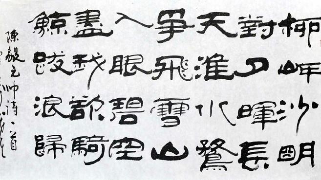 魏碑书法的特点是什么图片