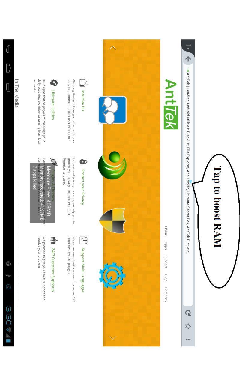 玩免費工具APP|下載智能RAM的助推器 app不用錢|硬是要APP
