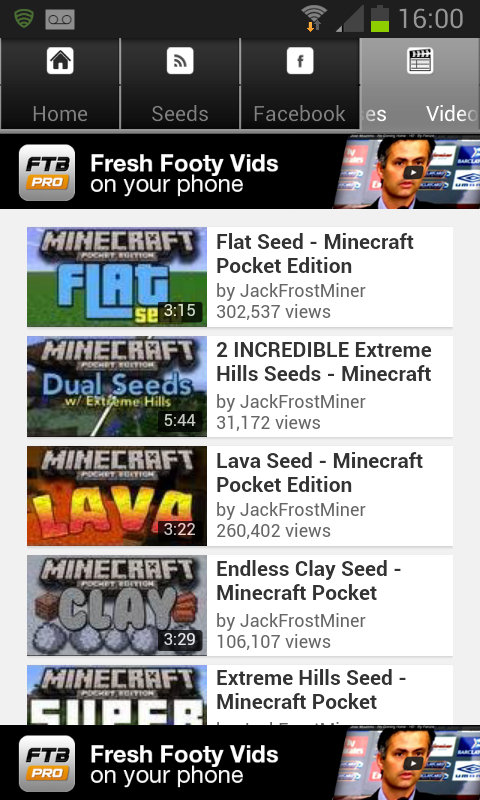 Minecraft PE EPIC SEEDS LIST! - Minecraft Pocket Edition ...