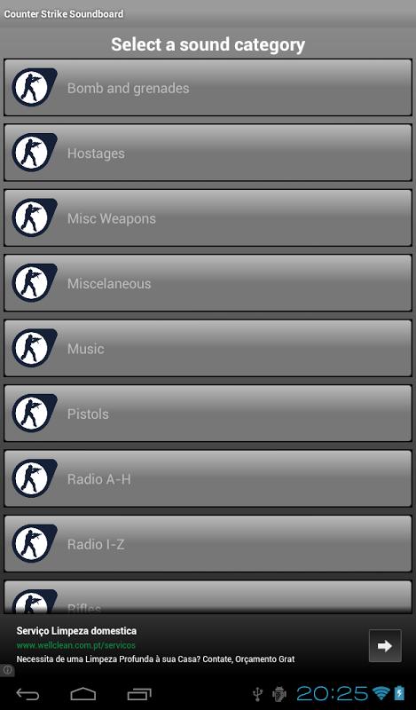 Counter Strike Soundboard