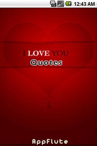 【免費個人化App】I Love You Quotes-APP點子