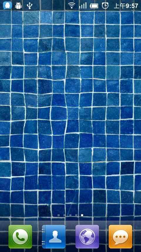 水滴波纹动态壁纸