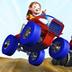 疯狂赛车游戏 LOGO-APP點子