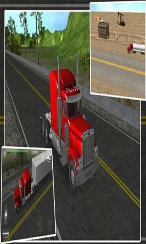 职业卡车司机3D