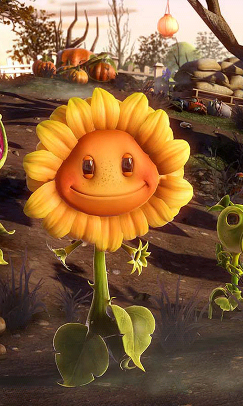 植物大战僵尸花园战争-3D桌面壁纸