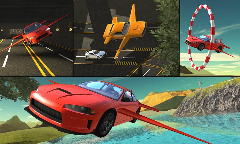 飞行汽车飞行试验3D-应用截图