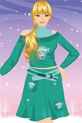 芭比冬季换装游戏 Barbie in Winter Dress Up Game|玩遊戲App免費|玩APPs