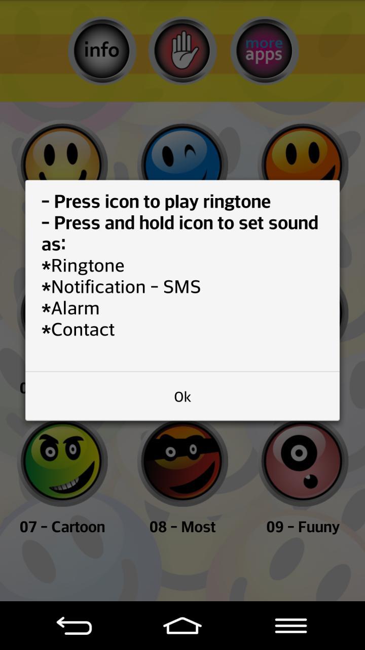 搞笑短信铃声-应用截图