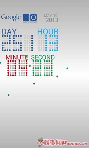 谷歌时钟动态壁纸软件2013