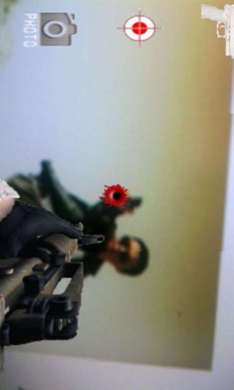 实景模拟手枪