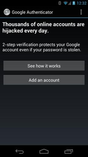 谷歌身份验证器-应用截图