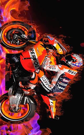 极速摩托漂移赛壁纸