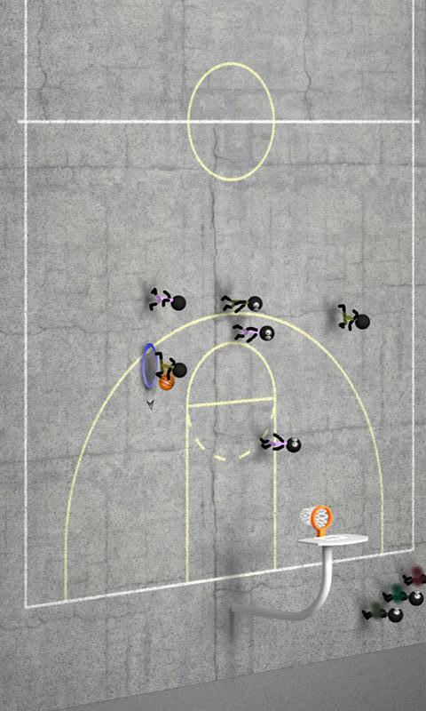 【免費體育競技App】火柴人篮球-APP點子