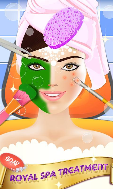 【免費遊戲App】皇家公主化妆-APP點子