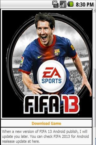 FIFA13游戏 FIFA 13 Game Free