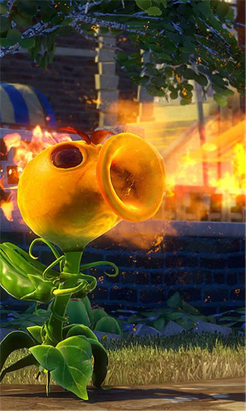 植物大战僵尸花园战争-秀主题锁屏-应用截图
