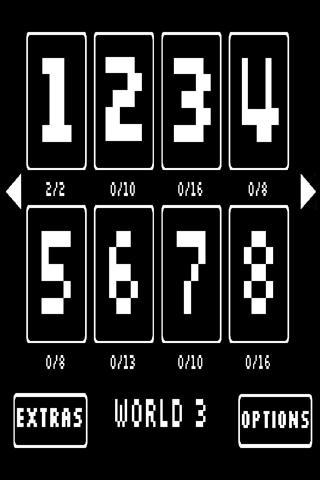 解谜游戏 Ping - An 8-bit Puzzle Game-应用截图