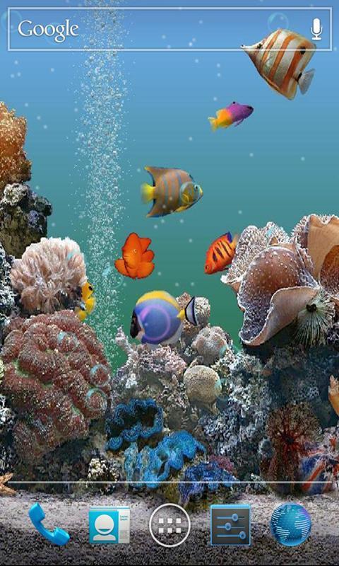 3D海底世界动态壁纸-应用截图
