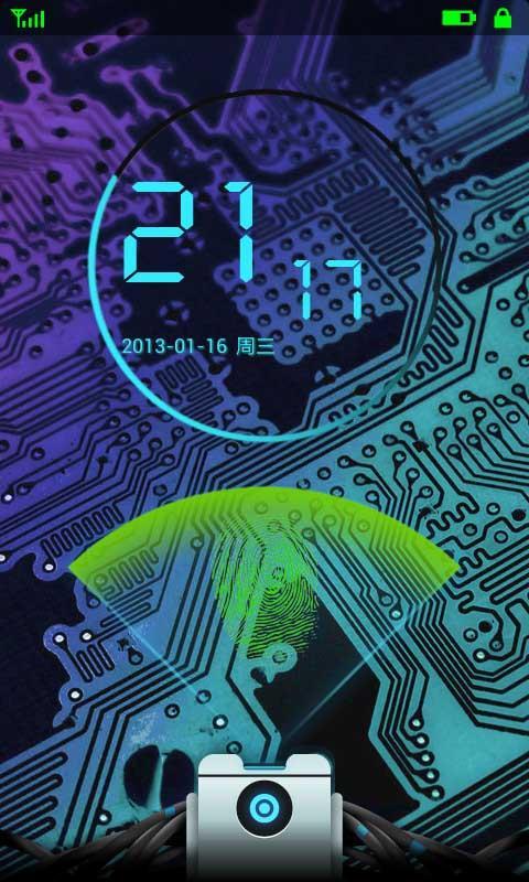 未来科技指纹解锁