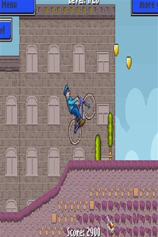警察自行车运行 Cop bike run - race game