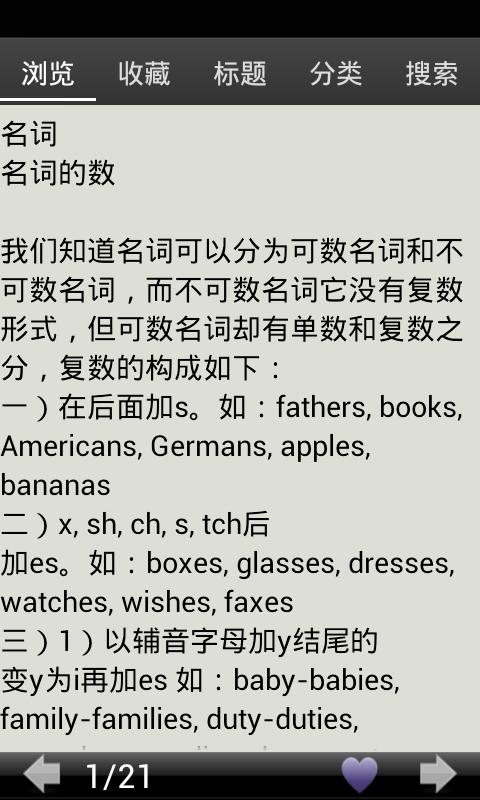 初一英语语法总结