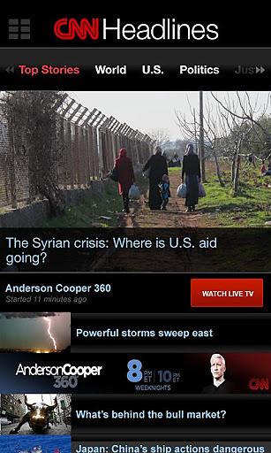 玩免費媒體與影片APP|下載CNN在线新闻 app不用錢|硬是要APP