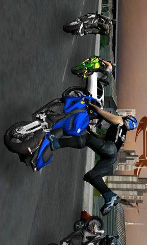 疯狂摩托飙车