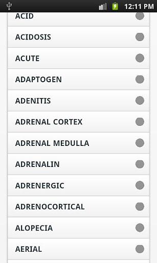 玩免費生產應用APP|下載Medical Dictionary app不用錢|硬是要APP