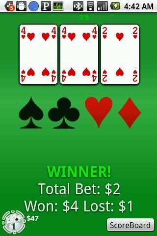 三张纸牌|玩棋類遊戲App免費|玩APPs