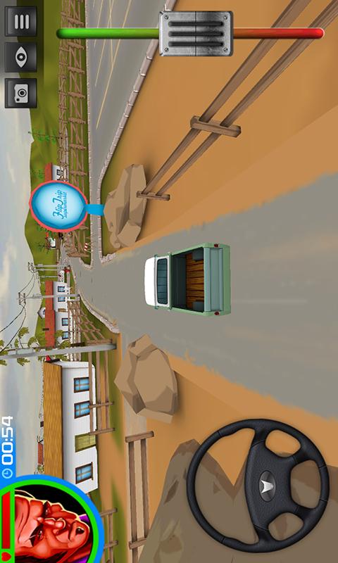 模拟驾驶汽车-应用截图
