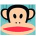 GO桌面可爱大嘴猴主题