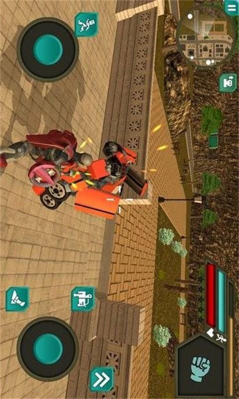 罪恶通缉摩托机器侠-应用截图