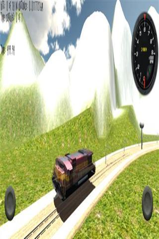 三维驾驶模拟器火车