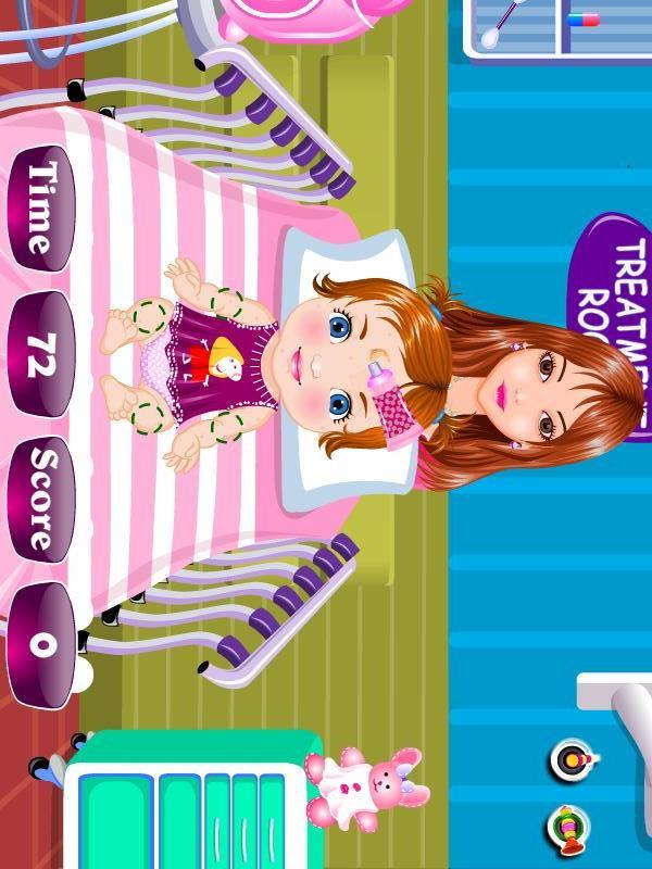 婴儿医疗女孩子的游戏 玩遊戲App免費 玩APPs
