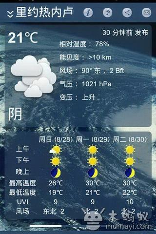 天气在线 Weather Online