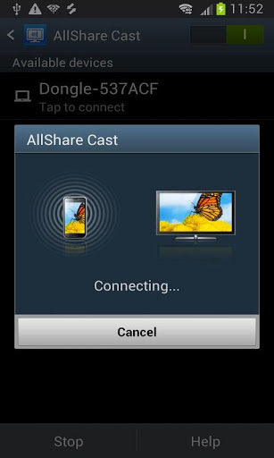AllShareCast Dongle-应用截图