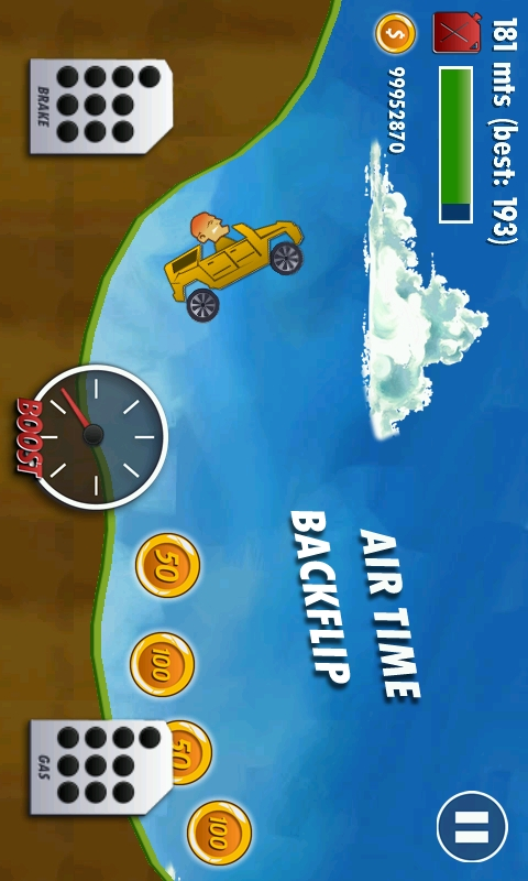Hill Climb Racing - Play Online Game