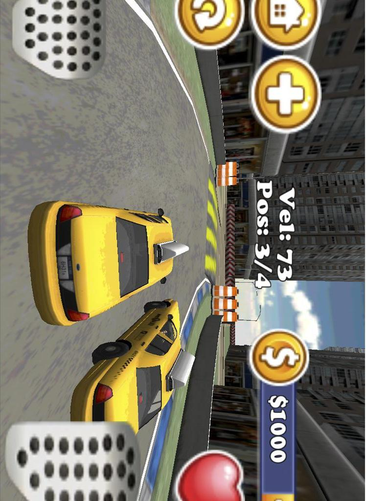 出租车赛车3D出租车司机