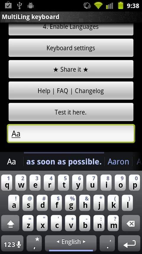 玩免費工具APP|下載MultiLing 键盘 app不用錢|硬是要APP