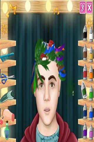 真正的理发的理发师