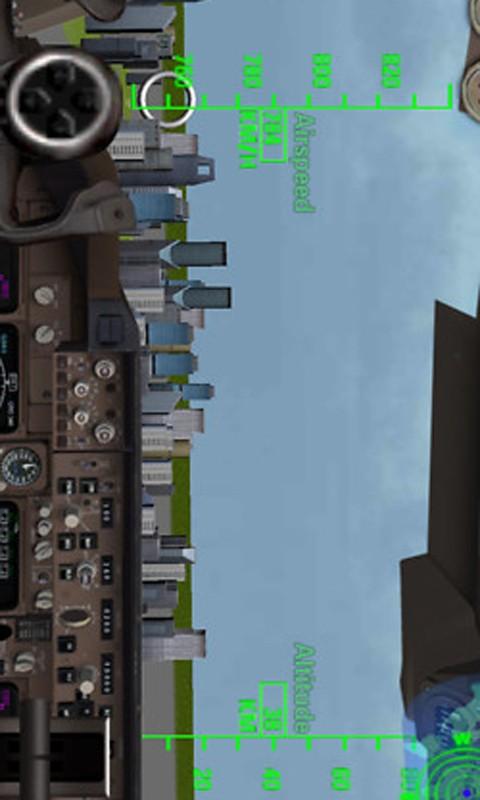 3D飞机模拟器